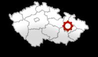 Mapa ČR – Květín 18, 789 85 Mohelnice